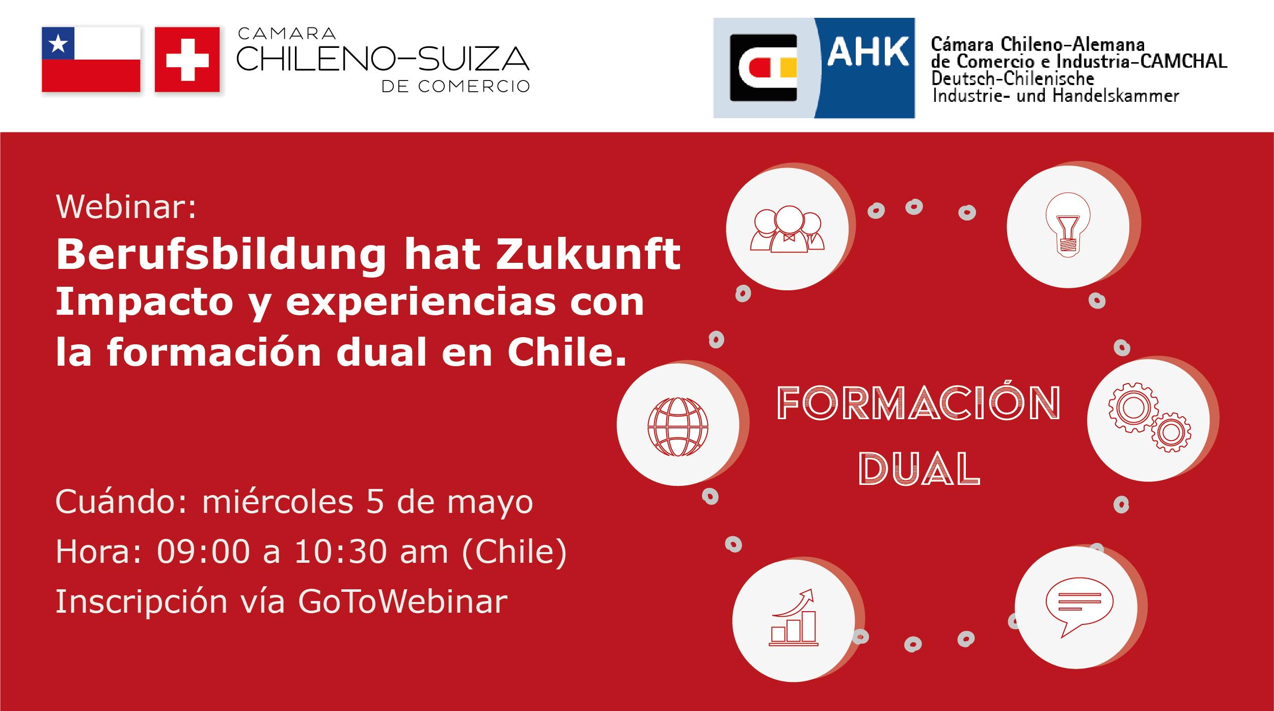 EDUCACION DUAL - Camara chileno suiza - Camara Chileno Alemana