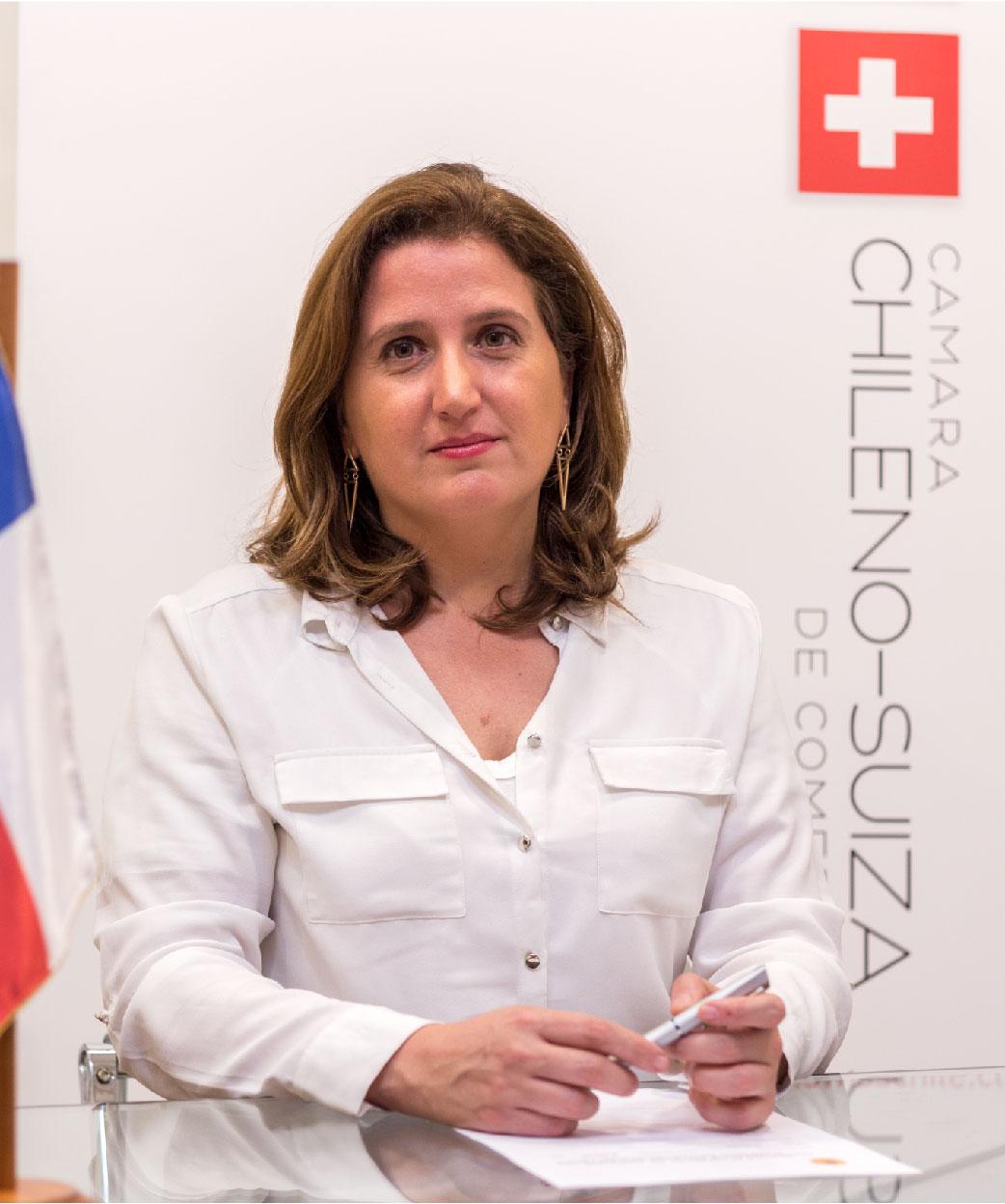 Constanza Cardenas - Gerenta Cámara Chileno-Suiza de Comercio