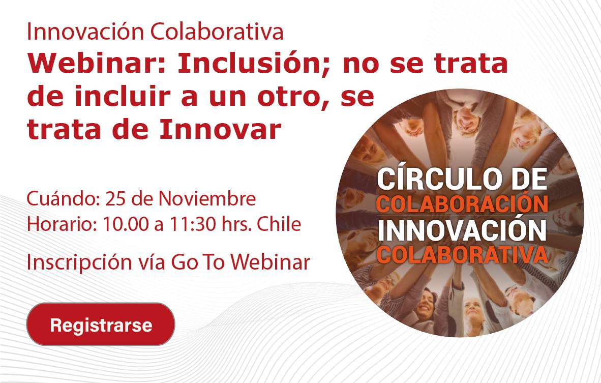 Webinar de innovación colaborativa - Inclusión