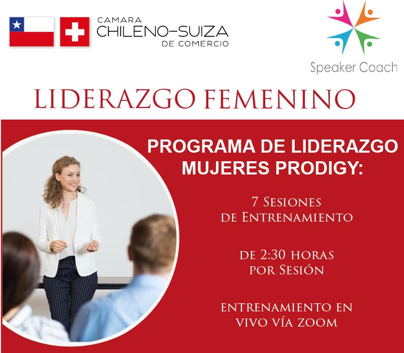 Programa de entrenamiento de Liderazgo Femenino 2020 - Cámara Chileno Suiza de Comercio