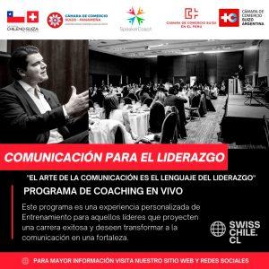 Programa de Comunicación para el Liderazgo - Camara Chileno Suiza de Comercio